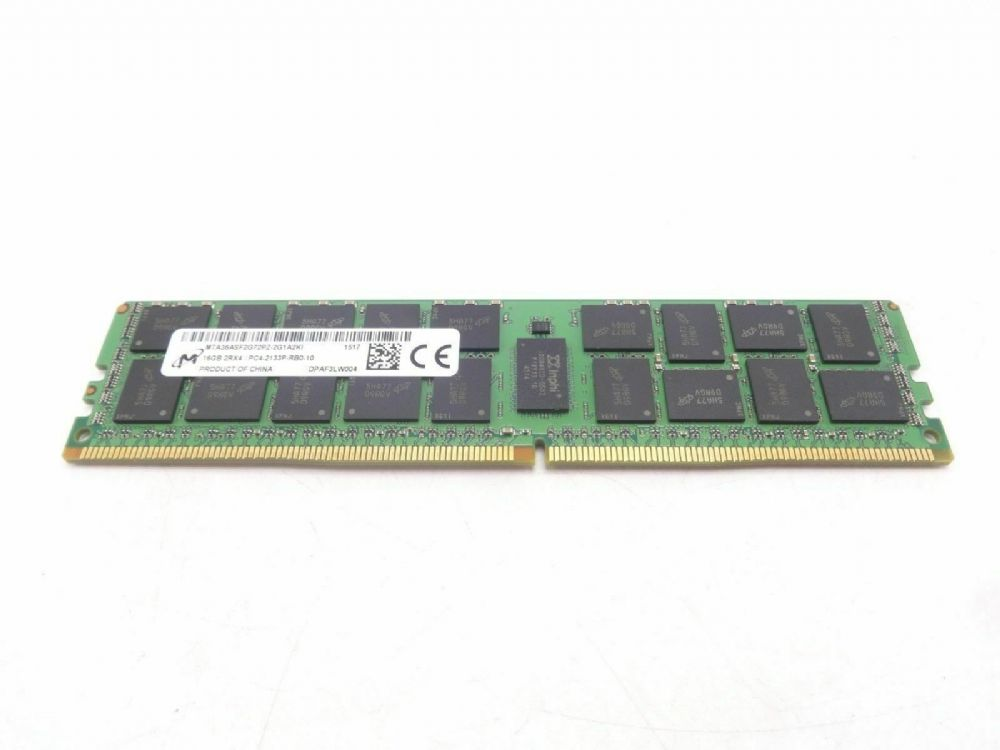 Dell 16GB 2Rx4 PC4-2133P DDR4 Server Memory 370-ABUG 1R8CR R630 R640 R730  R730xd